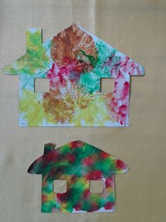 Kindergarten, September, Paper Crafts, Education, Fall, Prints, Painting, Activities, Cards