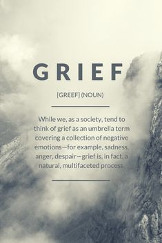"""Read the BEST Grief Definition that you will ever find. Discover answers to the question: """"What does grief mean for my life? Grief Definition, Stages Of Grief, Grief Support, Grief Loss, Quotes Deep Feelings, Negative Emotions, Make Sense, Definitions"""