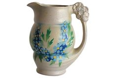 English Stoneware Pitcher