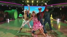 Mario Bros. themed dance from Dancing with the Stars (video)
