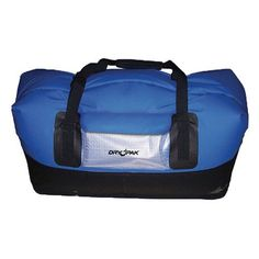 Dry Pak DP-D2BL Waterproof Duffels, Extra Large (30 x 14 x 15 in.)-Blue