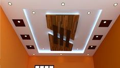 55 Modern POP false ceiling designs for living room pop design images for hall 2019 . Fall Ceiling Designs Bedroom, Bedroom Pop Design, Plaster Ceiling Design, Simple False Ceiling Design, Gypsum Ceiling Design, Interior Ceiling Design, House Ceiling Design, Ceiling Design Living Room, Bedroom False Ceiling Design