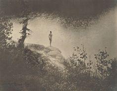 Anne Brigman, Figure in Landscape, 1923