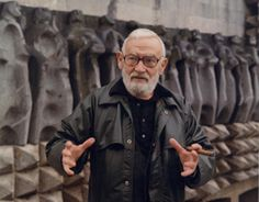 Jorge Oteiza in Aranzazu
