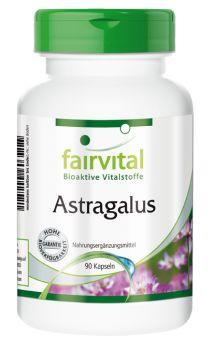 Astragalus Extrakt - 90 Kapseln | Vitalstoffe & Gesundheitsprodukte online kaufen | Fairvital