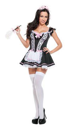 8719bc30ace Starline Maid In Heaven Costume Women s Costume - Nastassy Cute Costumes