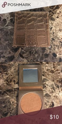 Tarte Park Avenue Princess Bronzer Used but so much product left. A shame for someone not to use it! Has been sanitized and is ready to go to a new home. tarte Makeup Bronzer