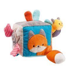 Cube d'activités Galopins coton bio*