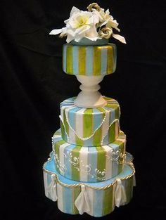 Specializing in beautiful wedding cakes and custom cakes for all ocassions. Beautiful Wedding Cakes, Glamorous Wedding, Beautiful Cakes, Amazing Cakes, Dream Wedding, Wedding Day, Wedding Stuff, Wedding Videos, Wedding Photos