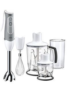 Mixer Braun MQ 545 Aperitif, 600 W, 2 viteze, Alb/gri Braun Hand Blender, Hand Held Blender, Kitchen Blenders, Food Processor Reviews, Best Juicer, Hand Mixer, Cleaning, Accessories, Mugs