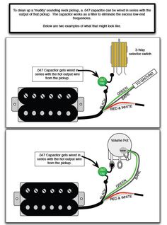 "How to Clean up a ""Muddy"" Sounding Neck Pickup"
