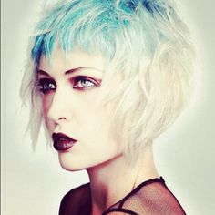 Blue hair - by headcase hair