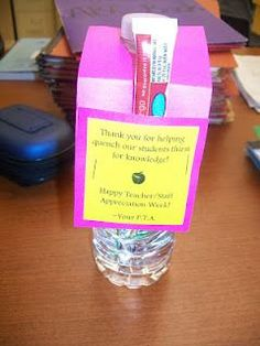 Teacher Appreciation Week ideas for gifts for teachers