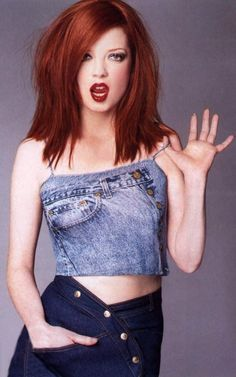 Shirley Manson - The 100 Hottest Female Singers of All Time Natural Red Hair, Natural Redhead, Beautiful Redhead, Most Beautiful Women, Beautiful People, Pretty People, Shirley Manson, Fernando Hernandez, Stupid Girl