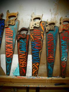 sign saws, Perfect for Man Cave!