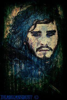 Jon Snow by Deadmans-Dust.deviantart.com on @deviantART