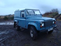 My Landrover Defender td90 so much fun at 10mph