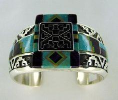 Abraham Begay Sterling Silver Bracelet