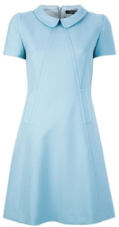 Tara Jamon Peter Pan Collar Dress - Lyst