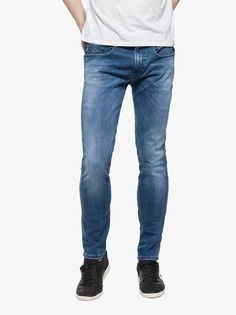 At Evolve Clothing we provide the widest range of clothes from shirts to suits and everything in between. Evolve Clothing, Replay, Stretch Denim, Denim Jeans, Indigo, Footwear, Clothes For Women, Trending Outfits, Pants