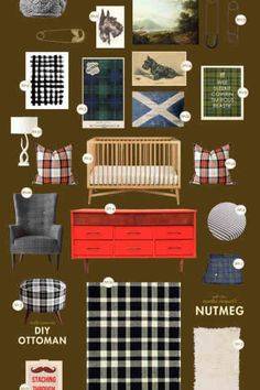 toddler room: rustic wilderness   Lay Baby Lay