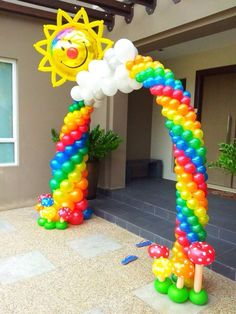 19 Best Examples Of Balloon Decorations Arch Decoration and Birthdays