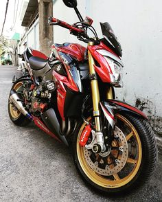 Suzuki GSX S1000 tuning by TabooShop
