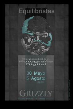 Exhibition Equilibrists poster and link to official catalogue. Cartel de la exposición Equilibristas y enlace a su catálogo oficial