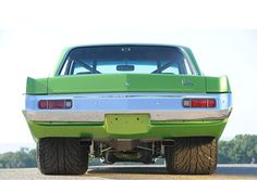 Bad Ass Dodge-Dart.  Now that's what I call STANCE!!!