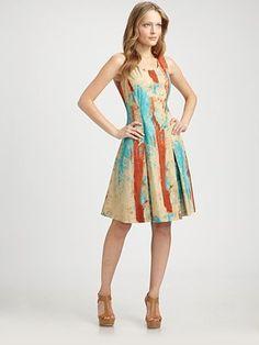 A dress you can paint in!   La Via 18 - Cotton Dress