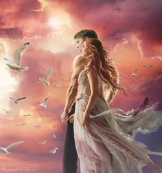 images that I like and attract my attention. I hope you'll find images here for your taste too. Foto Fantasy, Fantasy Love, Fantasy Art, Fantasy Images, Dark Fantasy, Fantasy Couples, Romance Novel Covers, Twin Flame Love, Twin Flames