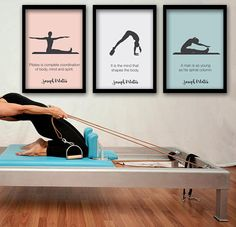 PILATES POSTER - Set of 3 Pilates Poster - Pilates Art Print - Pilates Studio Decor - Pilates Inspiration - Pilates Wall Decor - Pilates Wall Art - Printable Poster - Inspirational Wall Art - Wall Decor Poster PRINT IT AND FRAME IT YOURSELF! THIS IS AN INSTANT DOWNLOAD POSTER. NO PHYSICAL PRODUCT WILL BE SENT. HOW IT WORKS IN 2 STEPS: ○ After checkout you will be directed to a page to download your file instantly. ○ You can access the file anytime by viewing your Etsy purchase page. ABOUT…