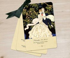 Wedding Programs  Order of Service Booklets  Vintage by GoGoSnap, $375.00