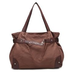 0f48093bc7 New fashion cloth shoulder hand bags for women (light blue) (brown)