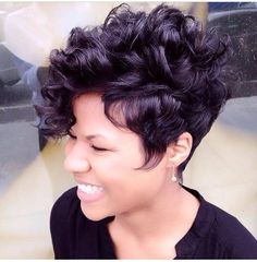 If I ever go for the big chop, I want something like this.