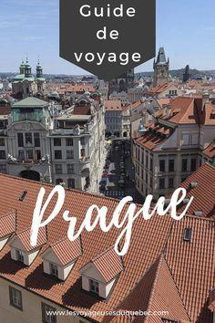 Vous prévoyez visiter Prague en République tchèque? Je vous présente mes incontournables afin de vous aider à savoir que faire à Prague et que voir dans cette ville européenne souvent considérée comme l'une des plus belles métropoles d'Europe.  #visiterprague #praguecitytrip