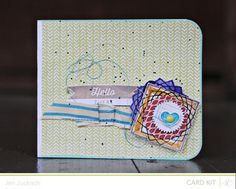 Made with @Studio_Calico September kit and add-ons, Double Scoop!