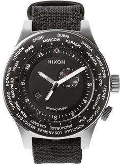 Nixon the Passport Watch http://www.swell.com/Mens-Watches/NIXON-THE-PASSPORT-WATCH?cs=BL @SWELL @Nixon Powell