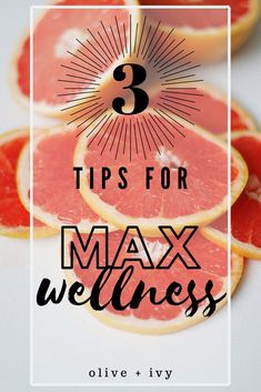 3 Tips for Max Wellness // Olive and Ivy -- #wellnesstips #wellnessyourway #healthandwellness Spiritual Wellness, Wellness Quotes, Wellness Fitness, Health Quotes, Wellness Tips, Health And Wellness, Health Tips, Healthy Lifestyle Tips, Healthy Habits