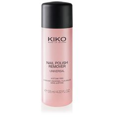 KIKO Milano: Nail Polish Remover - universele nagellakremover, zonder aceton