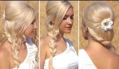 braid hairstyles for long hair wedding