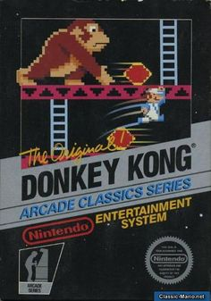 Today it is the original Donkey Kong for NES Donkey Kong