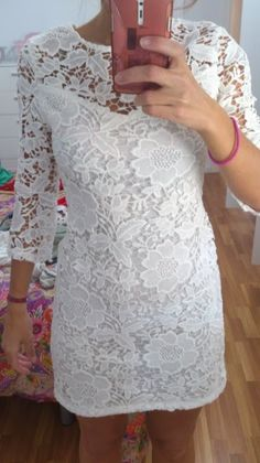 How to Chic: GET THE BLOGGERS LOOK - LACE DRESS