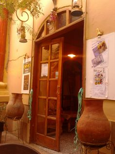 My photo of the entrance to Papa Costa in Khartoum. A great coffee shop. I miss this place!