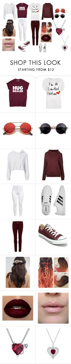"""""""BFF'S Girls"""" by catnor01 ❤ liked on Polyvore featuring WearAll, Monrow, CITYSHOP, adidas, Paige Denim, Converse, Her Curious Nature, Bling Jewelry and plus size clothing"""