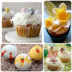 So many Yummy Cupcakes for Easter! 29 different ones