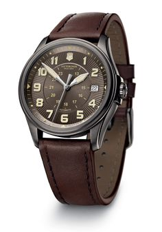 I love this Victorinox automatic watch.