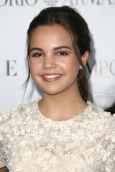 Bailee Madison Ponytail - Bailee Madison pulled her hair back in a simple ponytail for the Teen Vogue Young Hollywood party.