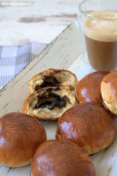 Schokoladenbrötchen, Chocolate Buns nach Jamie Oliver Rezept