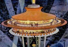 https://flic.kr/p/9AkgC2 | 1962 ... Seattle World's Fair | artist- Robert McCall
